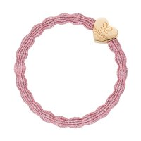 by Eloise London - Metalic gold heart rose pink