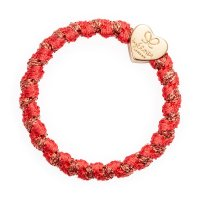 by Eloise London - Gold Heart Woven Savannah Red