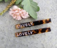 Hairclip - Lovely 2st leopard
