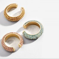 ear cuffs strass