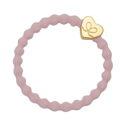 by Eloise London - Gold Heart Soft Pink