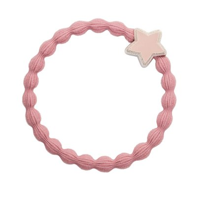 by Eloise London - Enamel silver star Champagne Pink