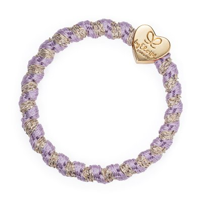 by Eloise London - Gold Heart Woven Lavender