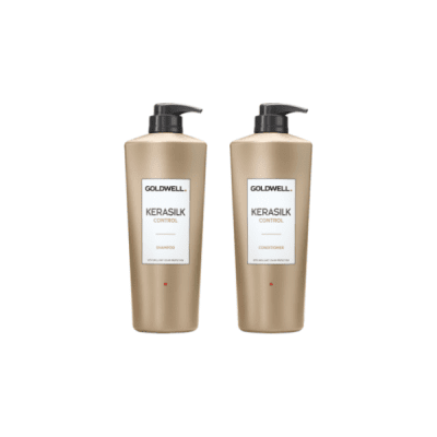goldwell kerasilk control duo stora flaskor 1000ml