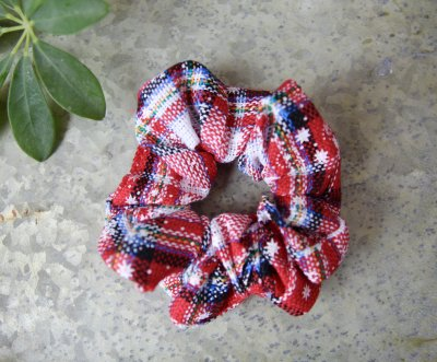 scrunchie jul christmas